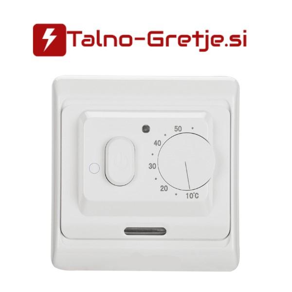 termostat za električno talno gretje-ogrevanje analogni