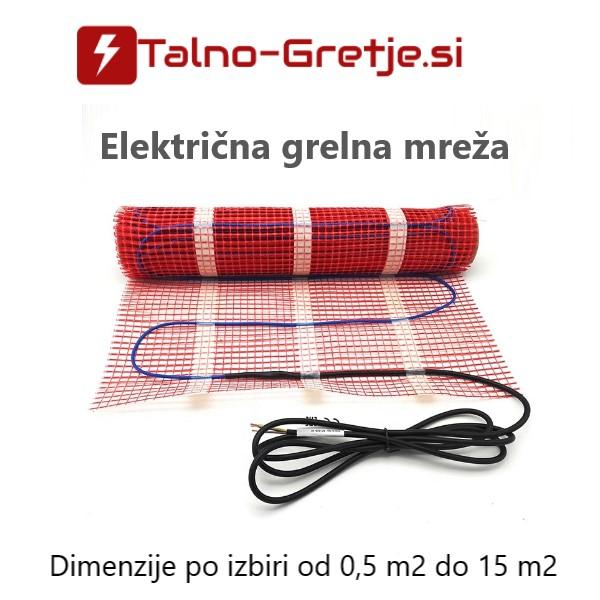 Grelne mreže za električno talno gretje - ogrevanje